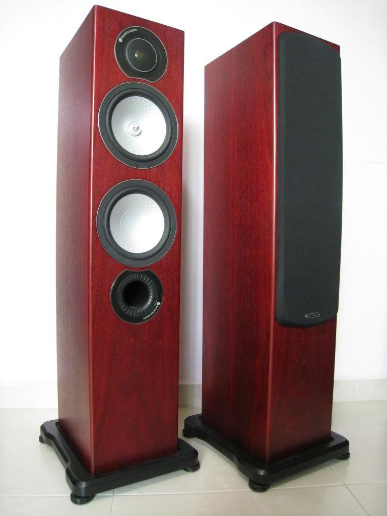 Usado - Monitor Audio RX6 Caixa Acústica Home Theater Speakers Casa Unidade