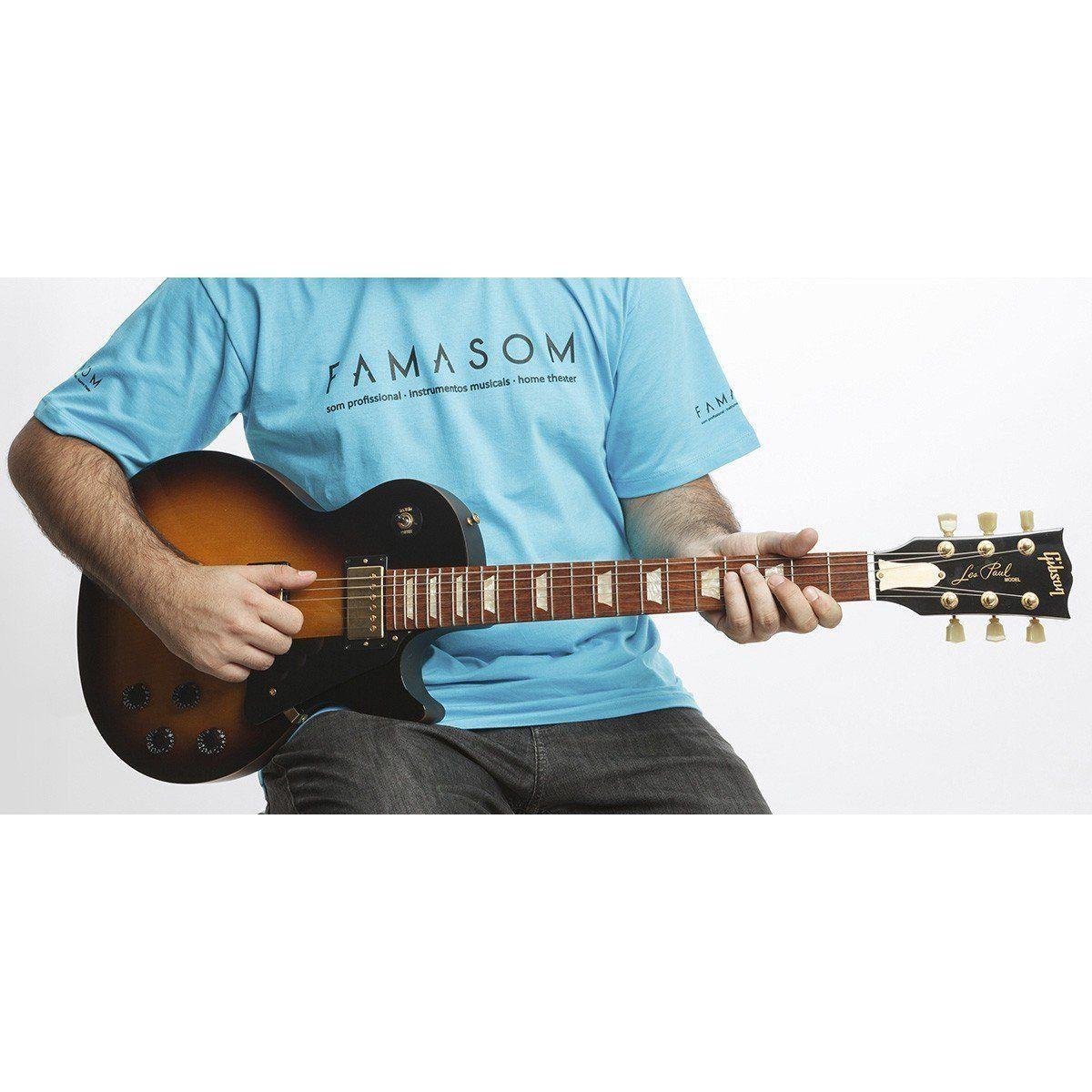 Usado - Gibson Les Paul Guitarra Studio 2013 Tiger Honeyburst