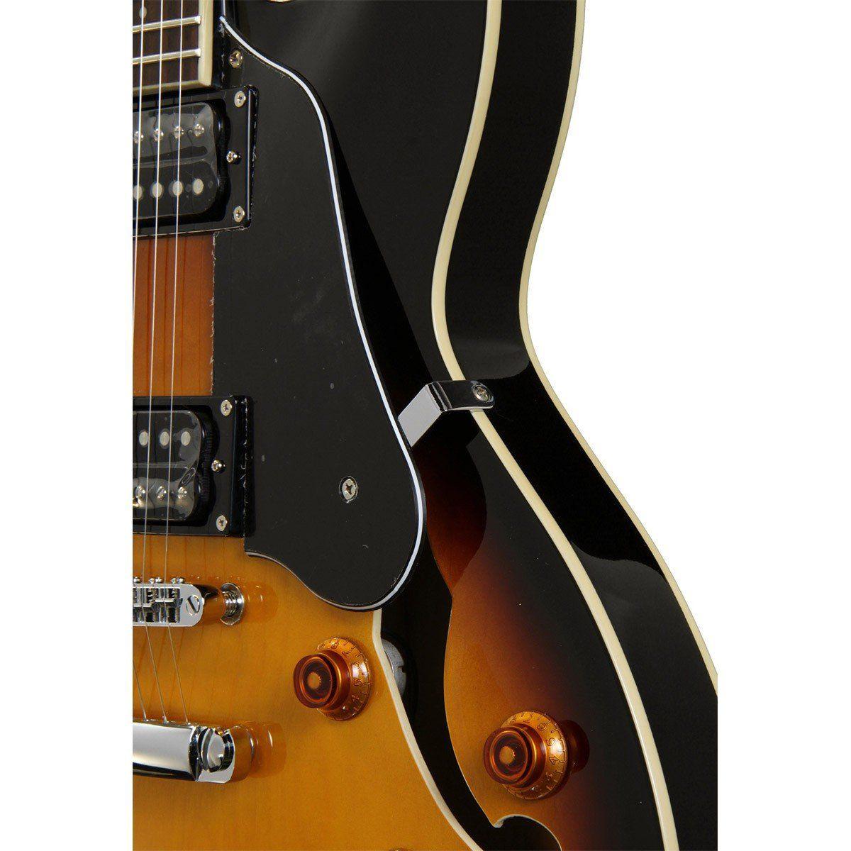 Washburn HB30 Guitarra Semiacústica Hollowbody com Bag para Jazz Blues Rock