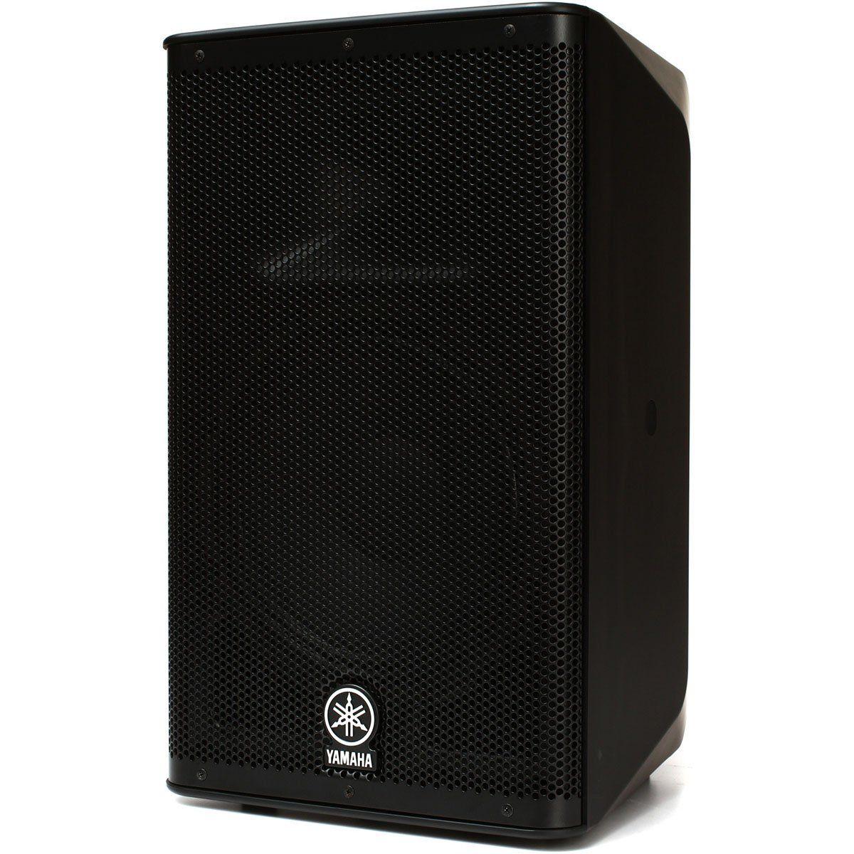 Yamaha DXR10 Caixa de Som DXR-10 Acústica Ativa 700W Amplificação para Voz