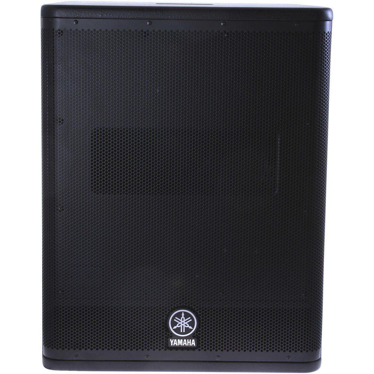 Yamaha DXS15 Caixa de Som DXS-15 Subwoofer Ativo 950W Grave Potente com Profundidade