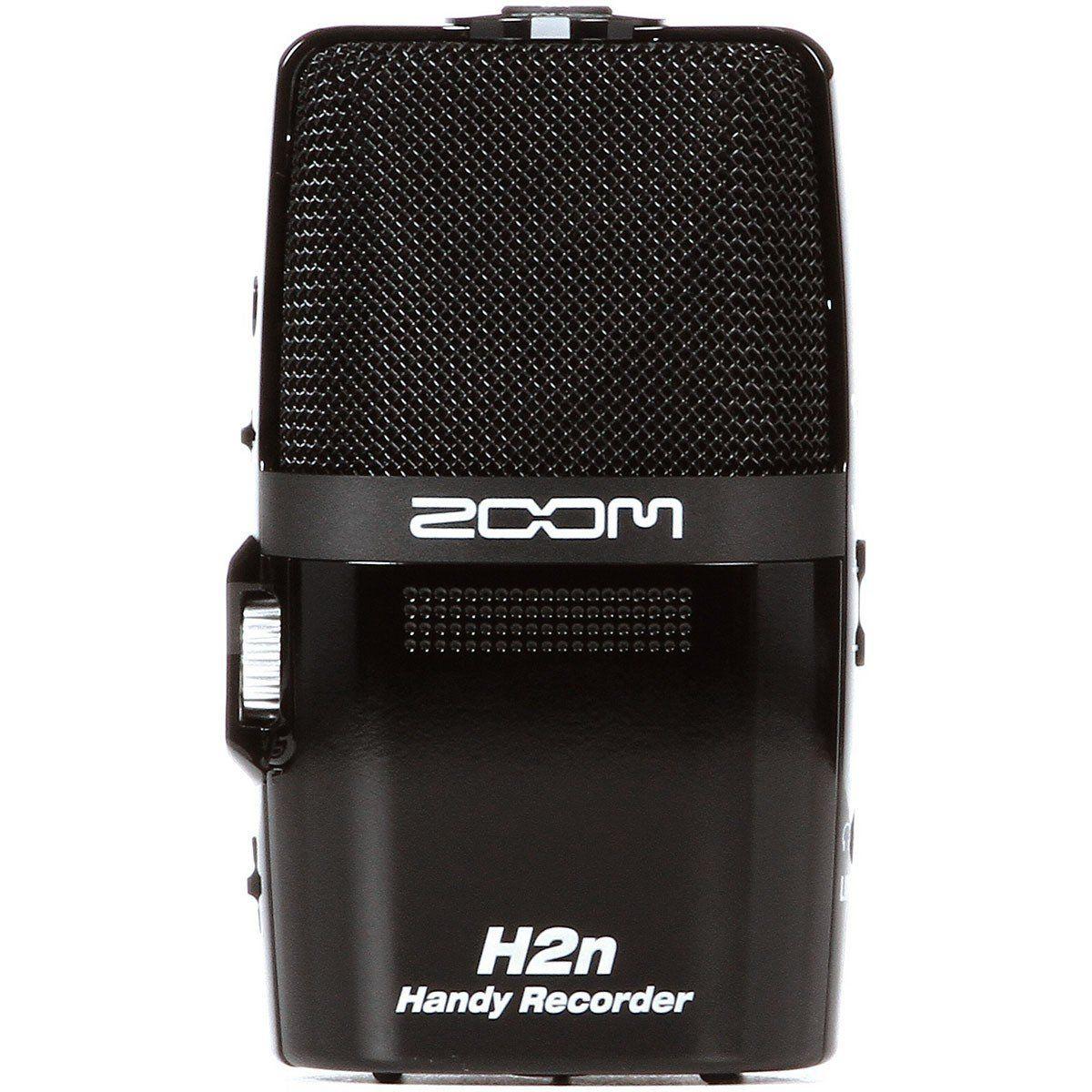 Zoom H2N Gravador de Áudio Zoom H2 N Armazena até 32GB Portátil Usb 24-Bit 96-Khz