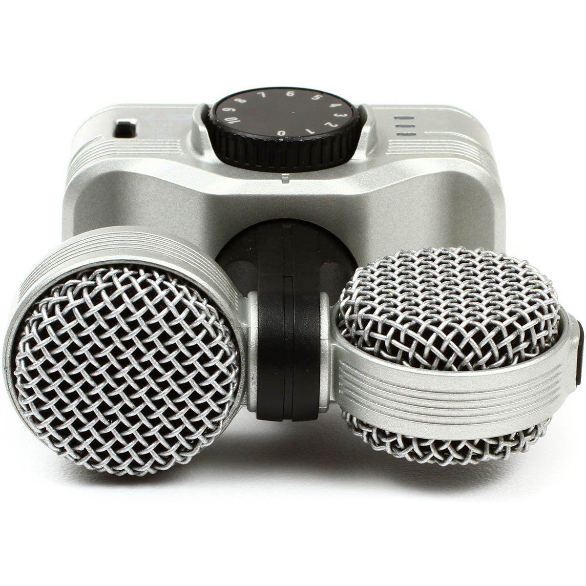 Zoom iQ7 Gravador de Áudio Zoom iQ-7 Microfone Condensador Estéreo iPad iPod iPhone