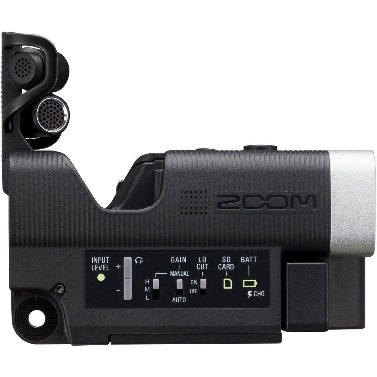 Zoom Q4 Câmera Gravador Q-4 Usb SXSC de até 128GB LCD 1080P 30Fps 24-Bit 96-Khz