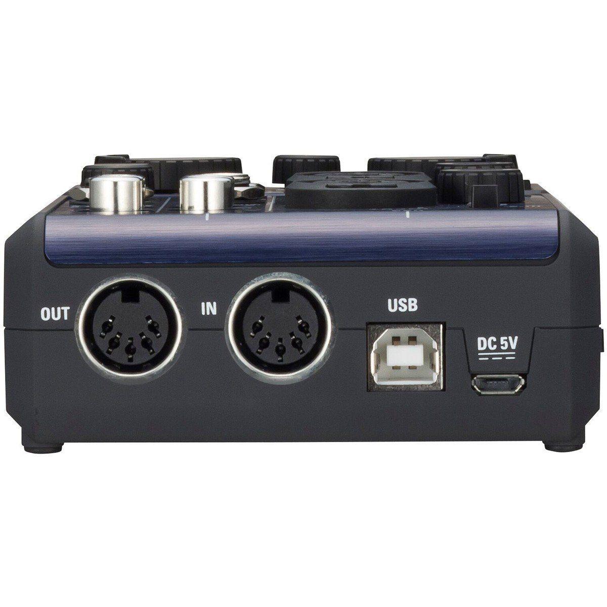 Zoom U-44 Interface de Áudio Zoom U44 Usb 4x4 S/Pdif Midi 24-Bit 96-Khz Pc Mac