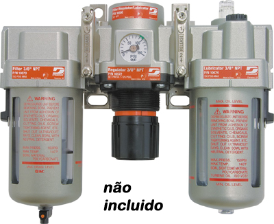 ESMERILHADEIRA PNEUMÁTICA ANGULAR 4.1/2 POL (114 mm) 1,3 HP (744 Watts) 12.000 RPM
