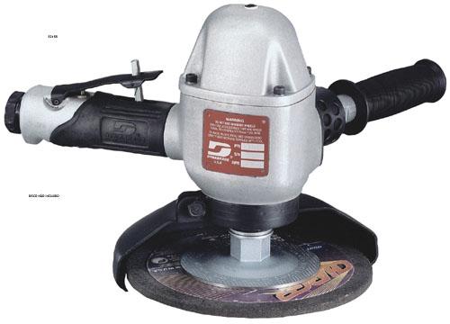 Esmerilhadeira pneumática vertical 7 pol (178mm) 2,0HP (1491Watts) 8.500RPM
