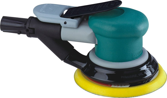 Lixadeira pneumática rotorbital (Dynorbital Spirit) 5 pol 0.25HP (186Watts) 12.000RPM auto-aspiração DY-59038