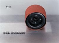 Esmerilhadeira pneumática horizontal 1HP (744Watts) 3.400RPM eixo 5/8 -11fppl com extensão 6 pol