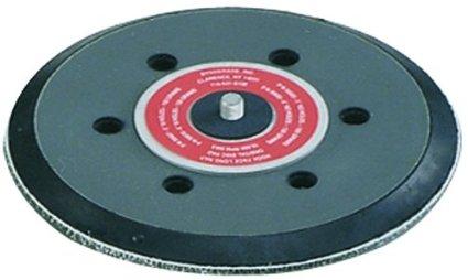 Disco suporte de lixa de borracha c/velcro c/furos