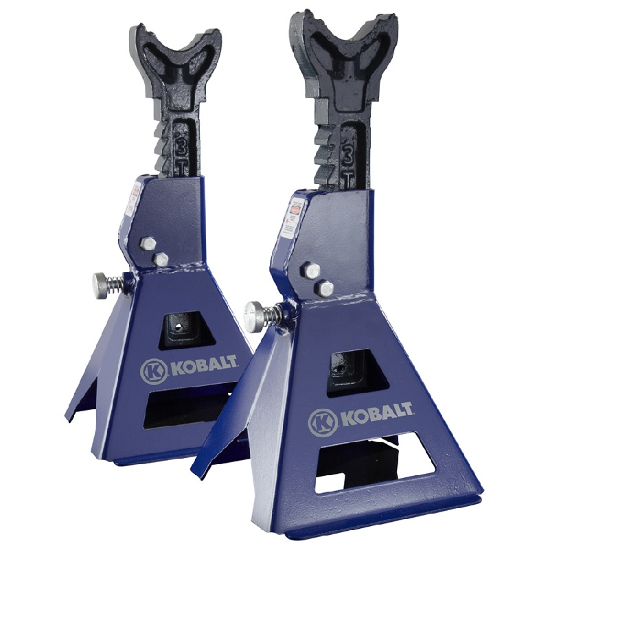 Par de Cavaletes de apoio para autos capacidade 3 Toneladas
