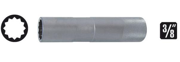 Soquetes para velas de ignição 14mm enc. 3/8