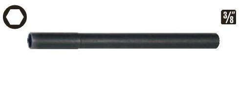 Soquetes para velas de ignição 14mm enc. 3/8 longo (Citroën, Renault)