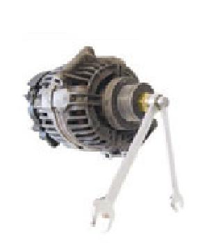 Chave para Alternador Multidentada M10 Encaixe Sextavado 12mm Comprimento 64mm  e Adaptador Externo Sextavado 28mm  Encaixe Sextavado 21mm KL-0284-27 Gedore Klann
