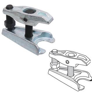 Extrator de Pivôs de Suspensão e Terminais Articulados das Barras de Direção ate 50 mm KL-0162-1 Gedore Klann