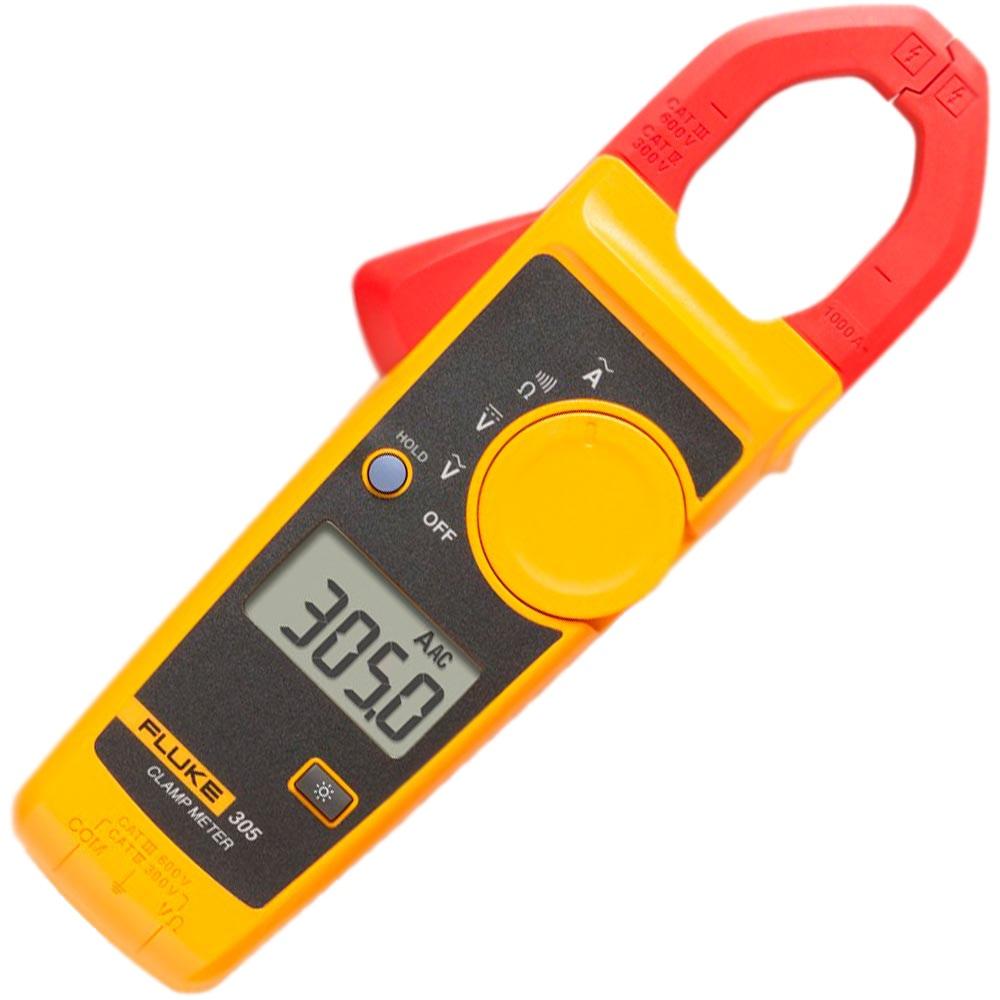 Alicate amperímetro digital 305  CAT. III 600 VOLT.- FLUKE