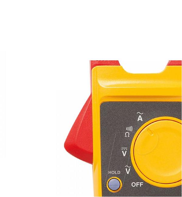 Alicate amperímetro digital True RMS 323 CAT. III 600 V - FLUKE