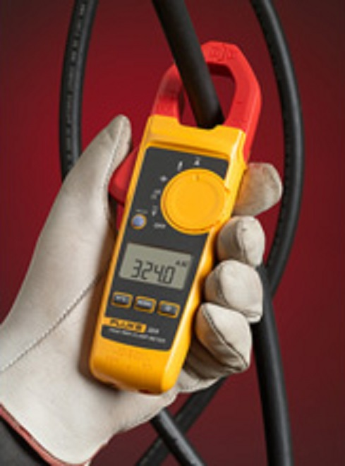 Alicate amperímetro digital True RMS 324 CAT. III 600 V - FLUKE