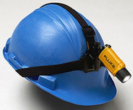 Lanterna Deluxe para capacete 3 leds L206