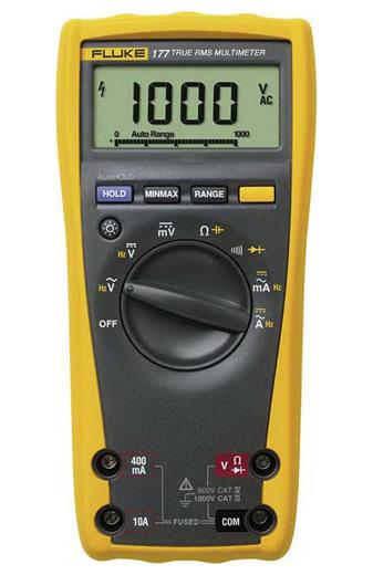 Multímetro digital TRUE-RMS 177 CAT III 1000V / CAT IV 600V