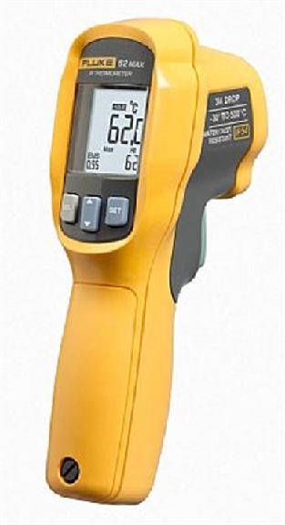 Mini termômetro digital infravermelho 500°C  62 MAX -FLUKE