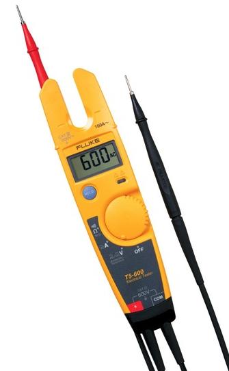Testador de tensão e continuidade de corrente 600V. CAT III  T5-600