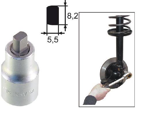 Soquete expansor 5,5 mm