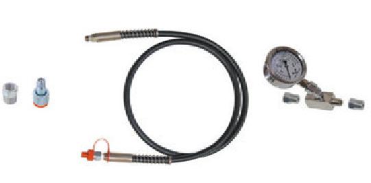 Bomba hidráulica com acionamento por pedal c/manômetro KL-0215-37 M25 Gedore Klann