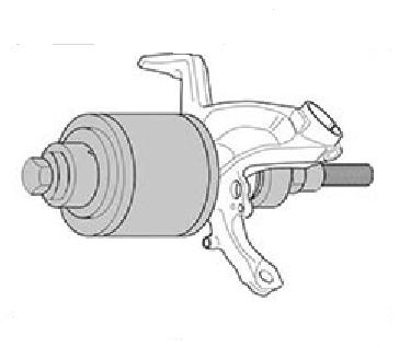 Kit Saca Rolamento Universal Manual KL-0039-0110 Gedore Klann