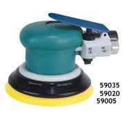 Lixadeira pneumática rotorbital (Dynorbital Spirit) 5 pol 0.25HP (186Watts) 12.000RPM sem aspiração