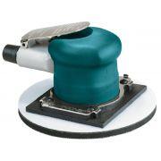 Lixadeira pneumática orbital modelo T Ø 6 pol 20.000RPM sem aspiração c/prato p/face de velcro