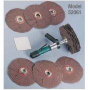 LIXADEIRA PNEUMÁTICA TIPO ESTRELA KIT 4 EM 1 (Dyninger) 0,4 HP(298 Watts) 200-950 RPM