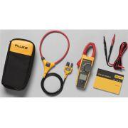 Alicate amperímetro digital True RMS 376 CAT. IV 1000 V . CC//CA c/IFLEX FLUKE
