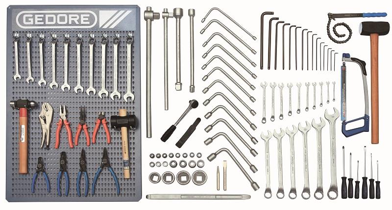 Kit Oficina GEDORE para Caminhão com 110 peças KMM C2 - GEDORE