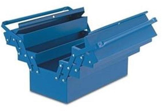 Caixa para Ferramentas de Aço com 5 Gavetas -500X200X210 mm - 550 - Marcon