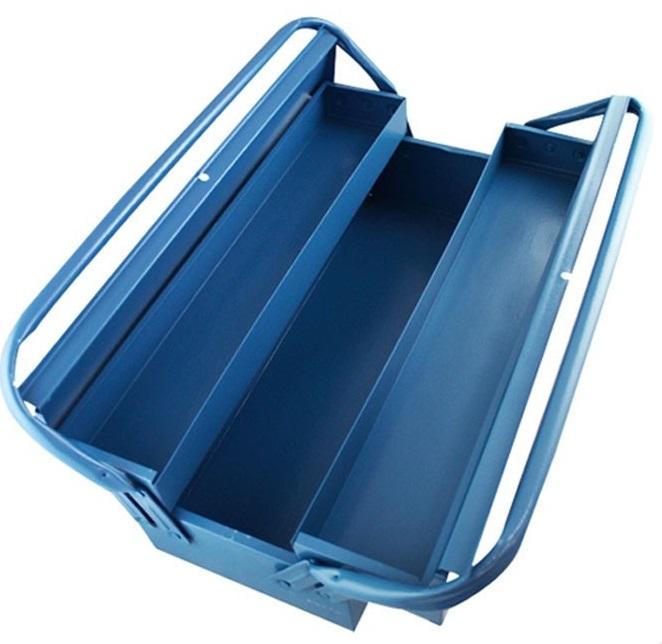 Caixa para Ferramentas de Aço com 3 Gavetas - 500x200x160 mm - 350 - Marcon
