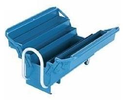 Caixa para Ferramentas de Aço com 5 Gavetas com Carrinho - 605x200x390 mm - 550M - Marcon