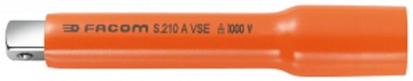 Extensão encaixe ■ 1/2 isolado 1000V - comprimento 145 mm - FACOM