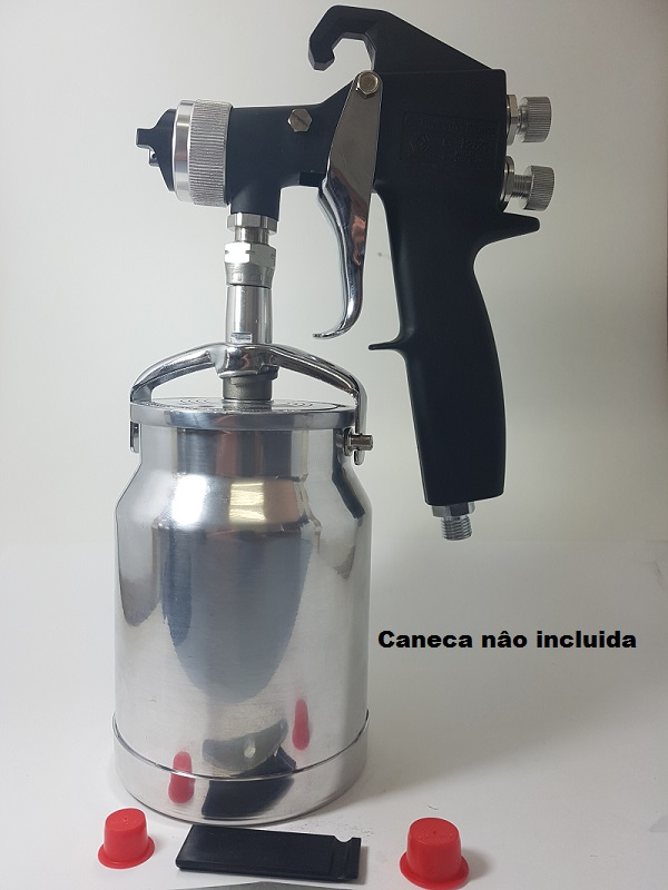 PISTOLA DE PINTURA MANUAL HVLP 100 PSI - 7 BAR -  G1265 - GRACO