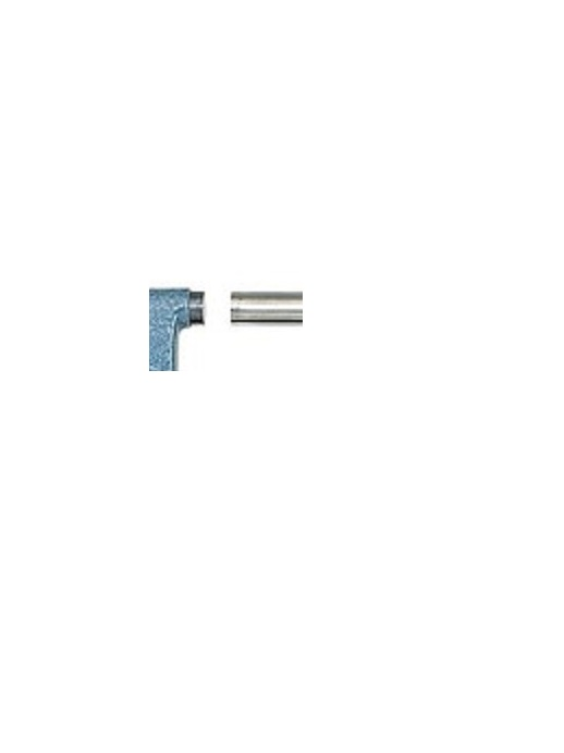 MICROMETRO EXTERNO 103-137 CAPACIDADE 0 A 25 MM GRADUAÇÃO 0,01 MM COM CATRACA - MITUTOYO