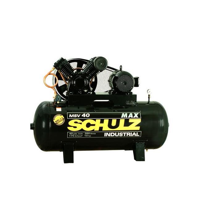 Compressor de Ar Alta Pressão - Schulz - MSV 40 MAX/350 Litros