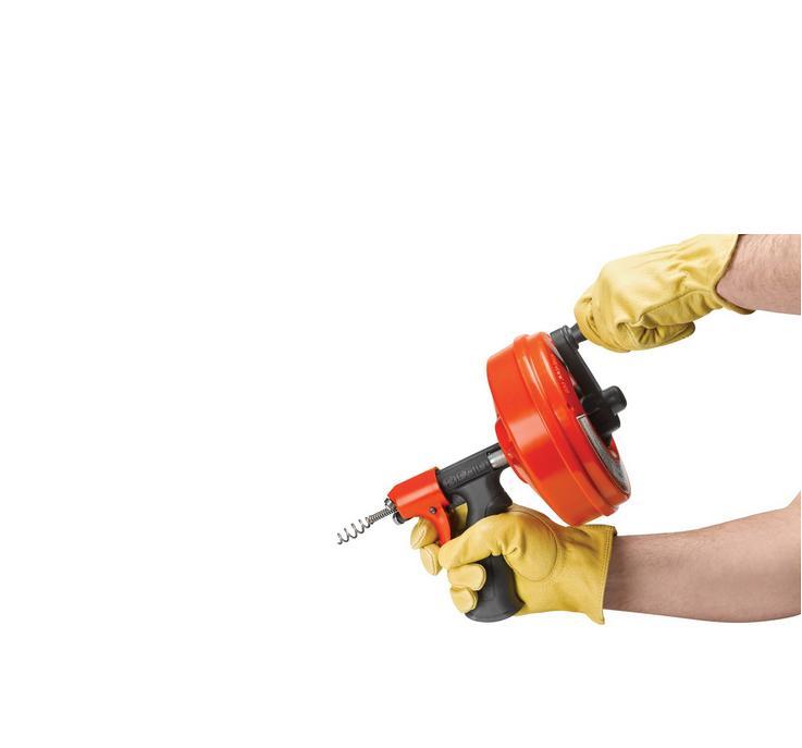 Desentupidor Manual Power Spin 57043 - Ridgid
