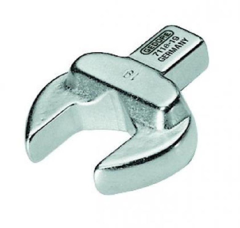Chave Fixa Intercambiável Para Torquímetro Encaixe 14 x 18mm  - 17 mm - 7118-17 - Gedore
