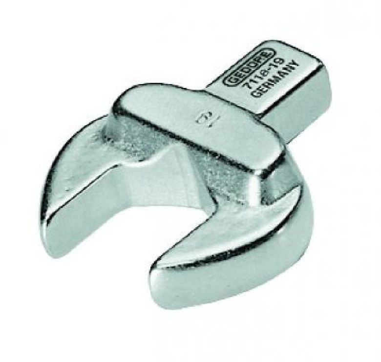 Chave Fixa Intercambiável Para Torquímetro Encaixe 14 x 18mm  - 30 mm - 7118-30 - Gedore