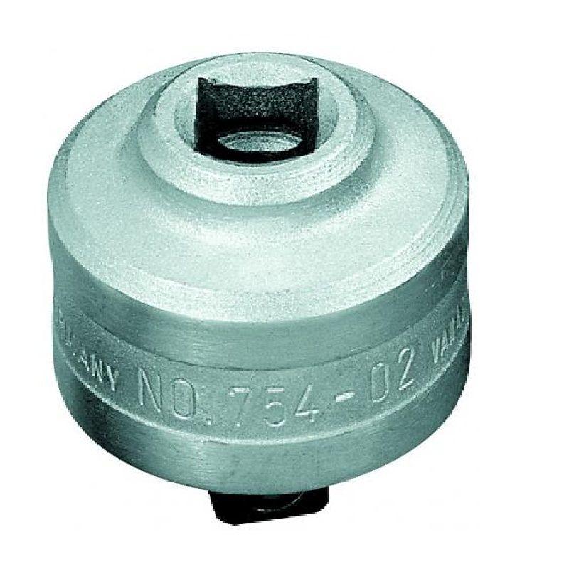 """Catraca Para Torquímetro de Estalo Dremometer  - Enc. ■ 1/2"""" (12,70 mm) - Sentido Horário - 754-02 - Gedore"""
