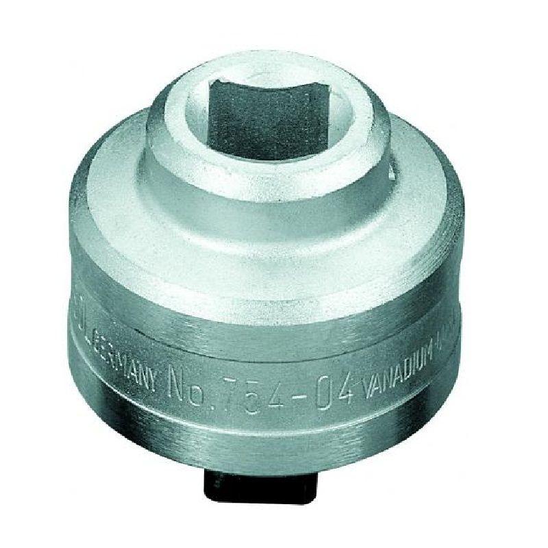 """Catraca Para Torquímetro de Estalo Dremometer  - Enc. ■ 3/4"""" (19,05 mm) - Sentido Horário - 754-04 - Gedore"""
