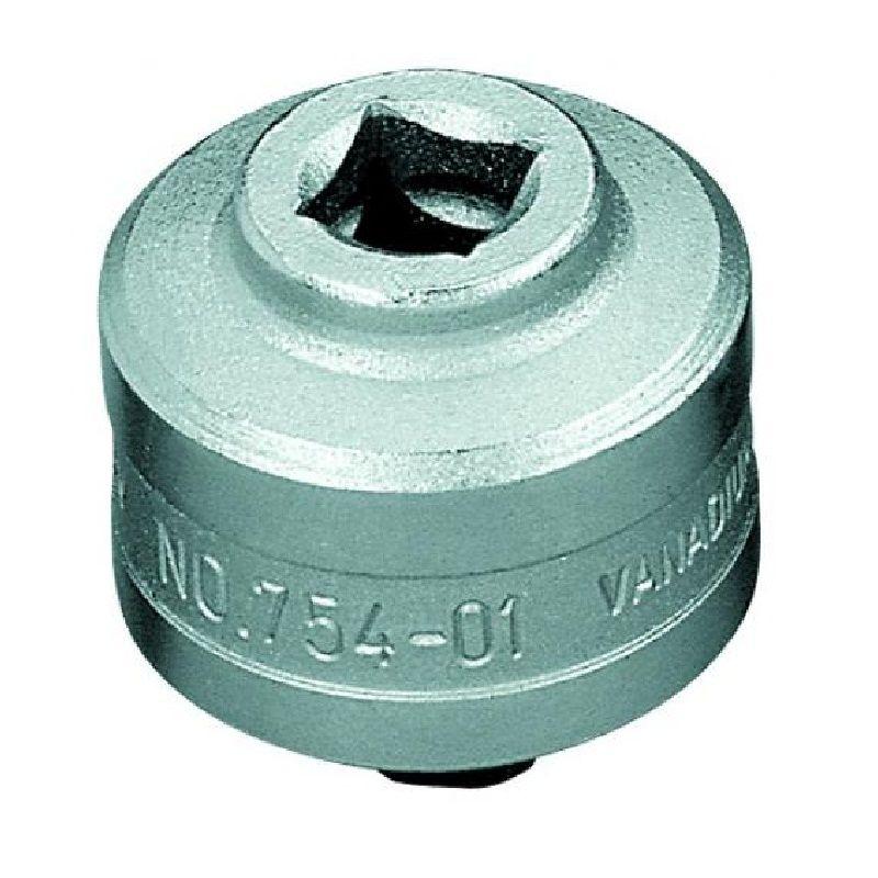 """Catraca Para Torquímetro de Estalo Dremometer  - Enc. ■ 3/8"""" (9,52 mm) - Sentido Horário - 754-01 - Gedore"""