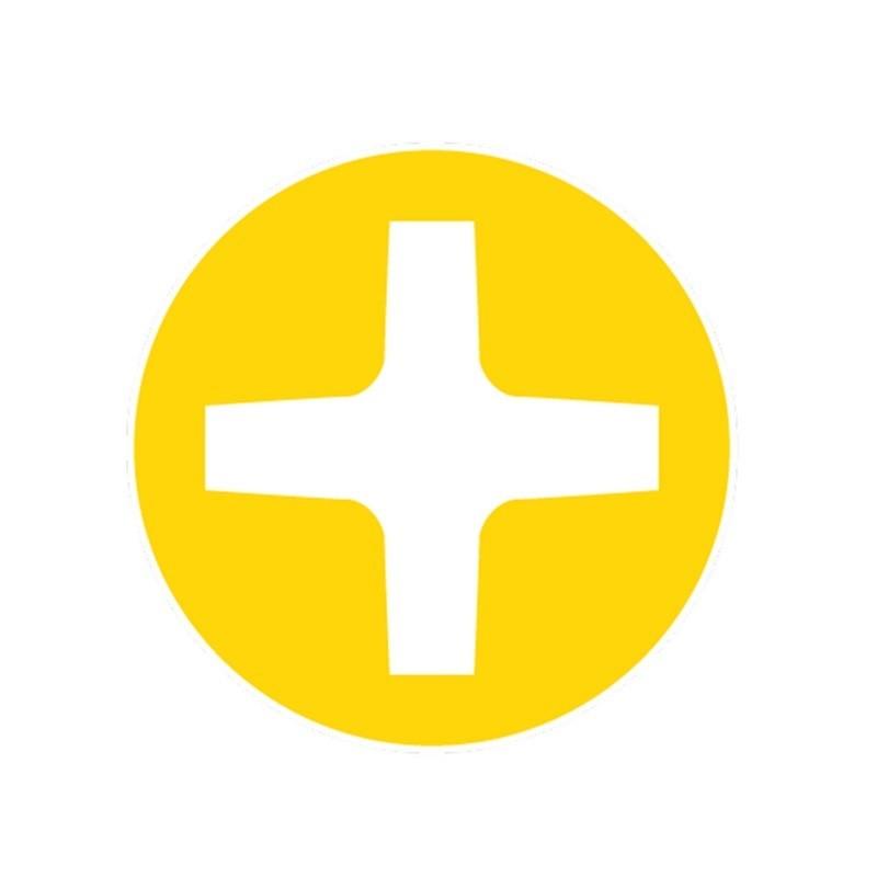 Chave Cruzada (phillips) - Isolada VE - AP1X100VE - Facom
