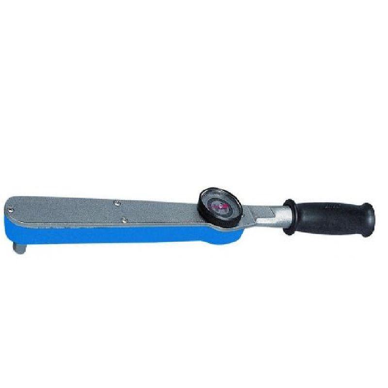 """Torquímetro Com Relógio - Enc. ■ 1/2"""" (12,70 mm)  -  25 a 135 Nm (20-100 Lbf.pé) - 4506 R100 - Gedore"""