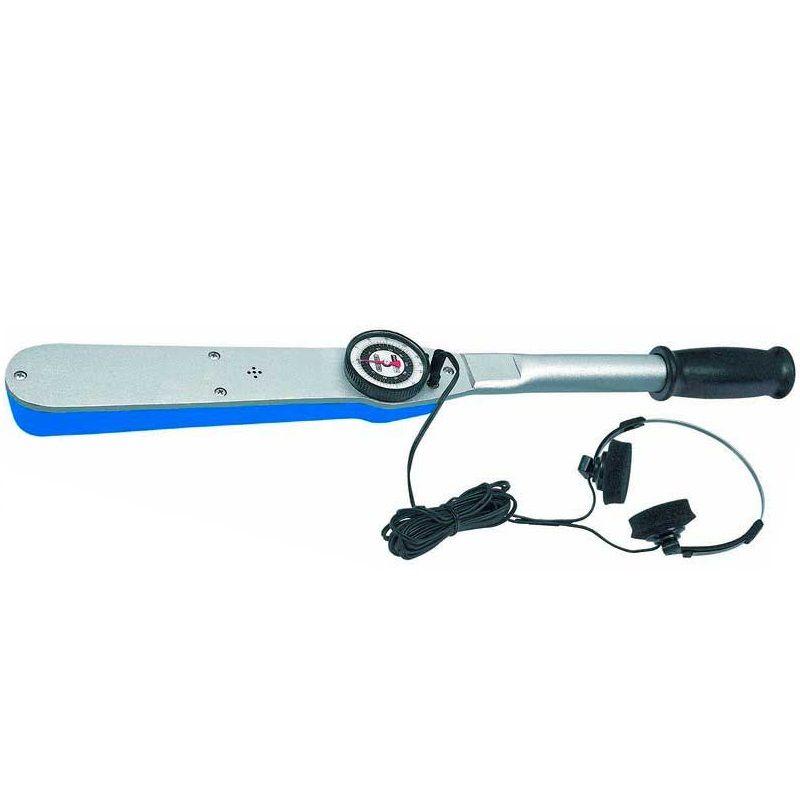"""Torquímetro Com Relógio, Lâmpada e Sinal Sonoro - Enc. ■ 3/4"""" (19,05 mm)  -  95 a 475 Nm (70-350 Lbf.pé) - 4506 RL350 - Gedore"""